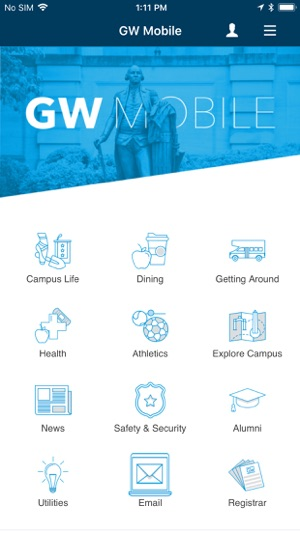 Gwu Mount Vernon Campus Map.Gwu Mobile On The App Store