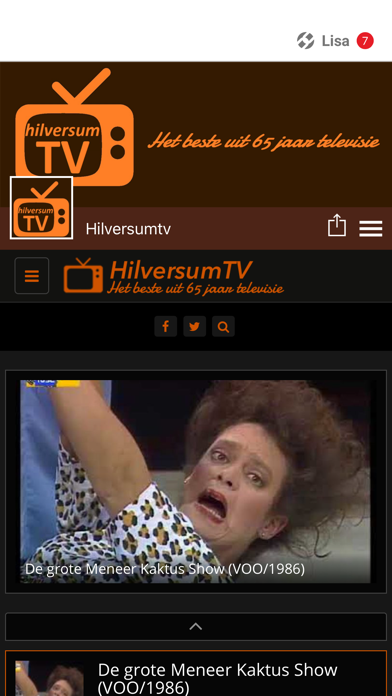 Hilversumtv screenshot 1
