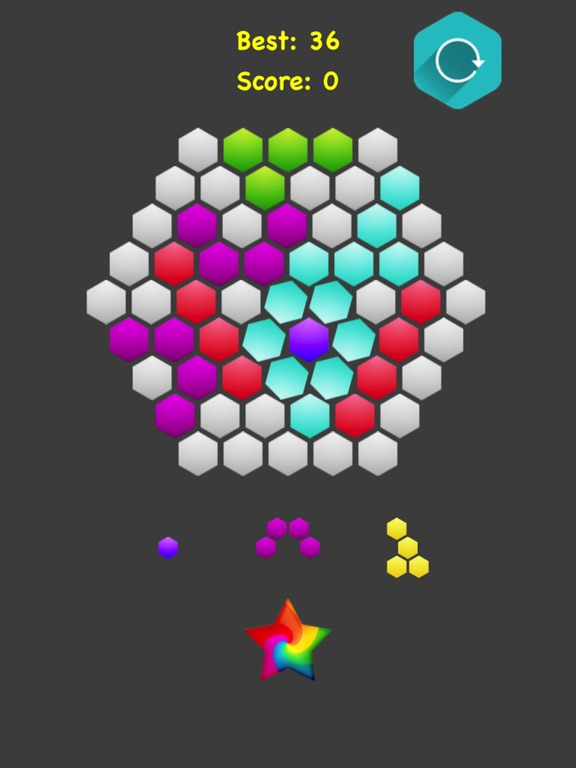 Hexagonal Merge screenshot 9