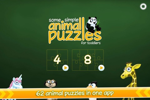 Some simple animal puzzles - náhled