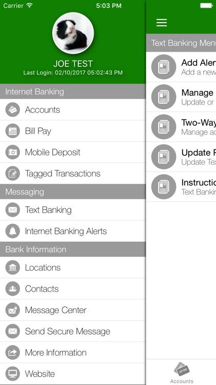 Kentland Bank Mobile Banking screenshot-4