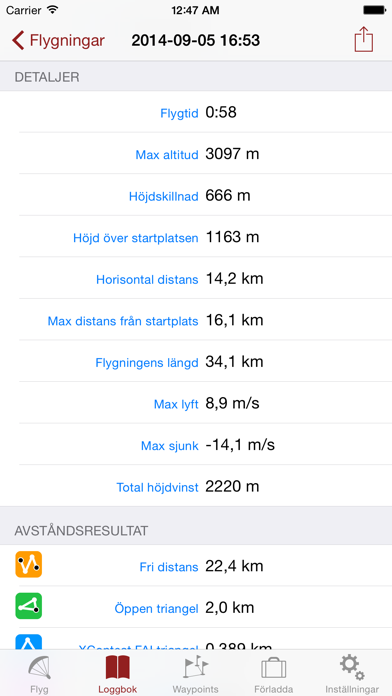 Screenshot for Flyskyhy in Sweden App Store