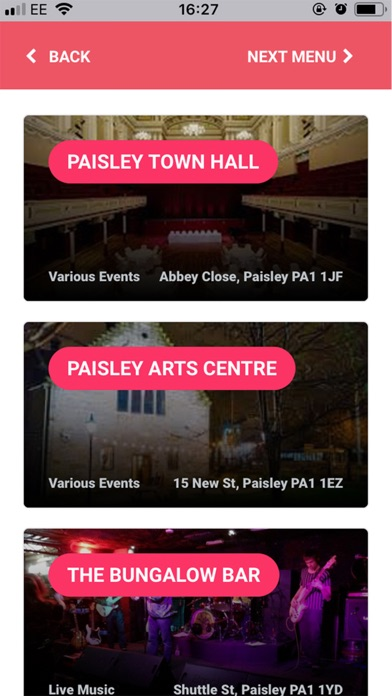 Experience Paisley First screenshot four