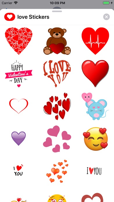 Love Stickers ملصقات الحب screenshot 1