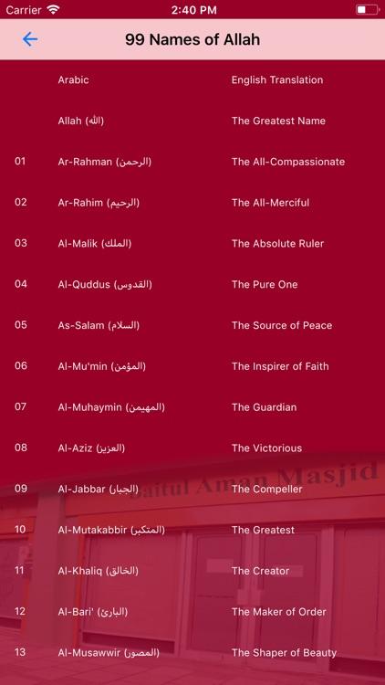 Prayer Timetable KTBAM screenshot-6