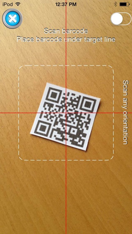 Scan to Spreadsheet