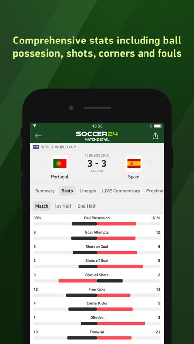 download Soccer 24 - soccer live scores apps 3