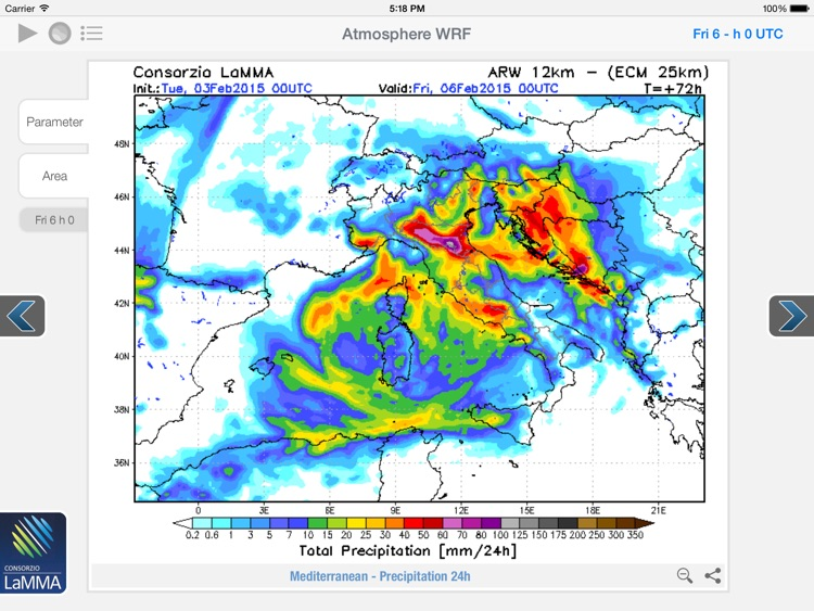 Atmosphere WRF for iPad screenshot-3