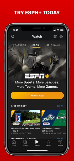 ESPN: Live Sports & Scores Screenshot
