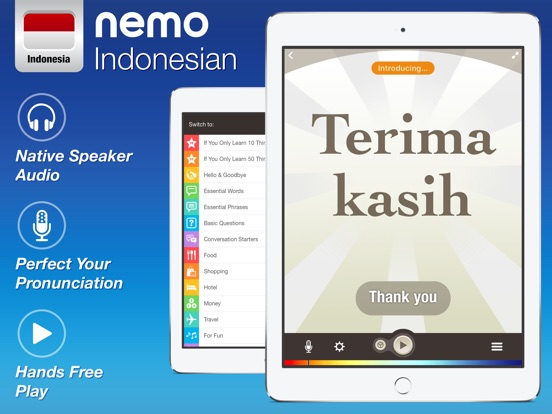 Indonesian by Nemo iPad