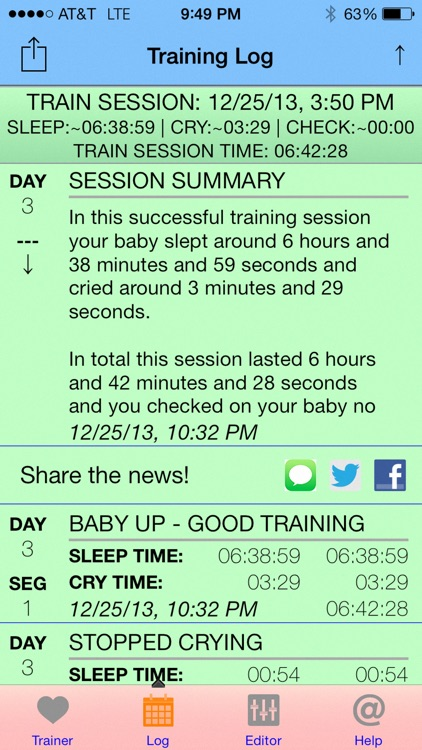 Baby Sleep Trainer screenshot-1
