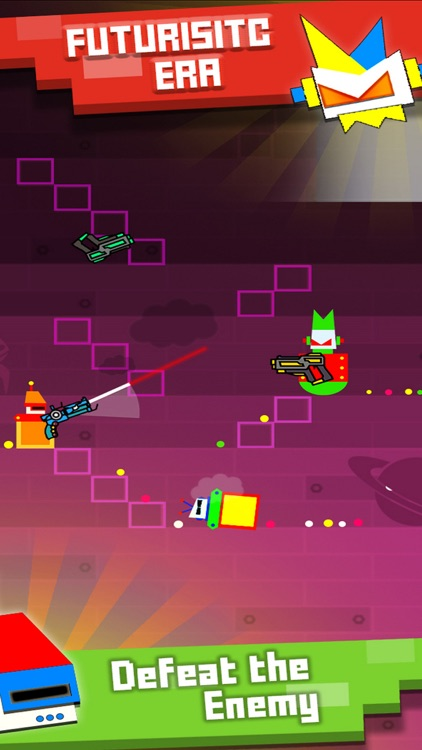 Jumping Shooter Game screenshot-3
