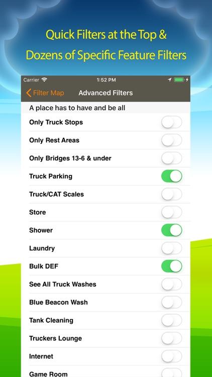 Truck Stops & Travel Plazas screenshot-3