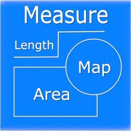 Map Measure - Draw Area & Line