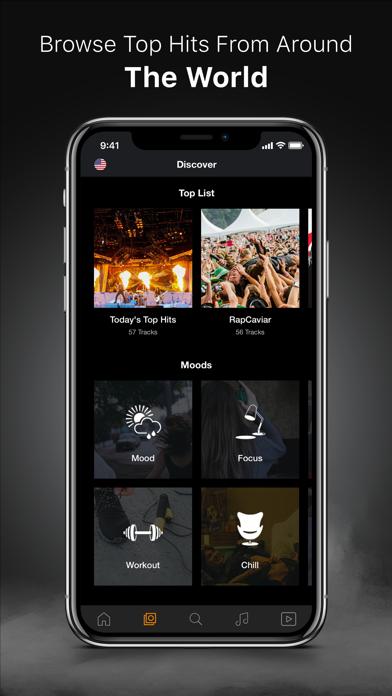 MELOS - Music Videos Play.er screenshot two