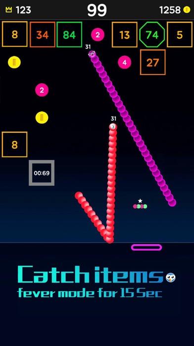 Snake Bricks-Bounce Balls screenshot 8