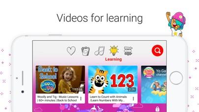 Screenshot for YouTube Kids in Canada App Store