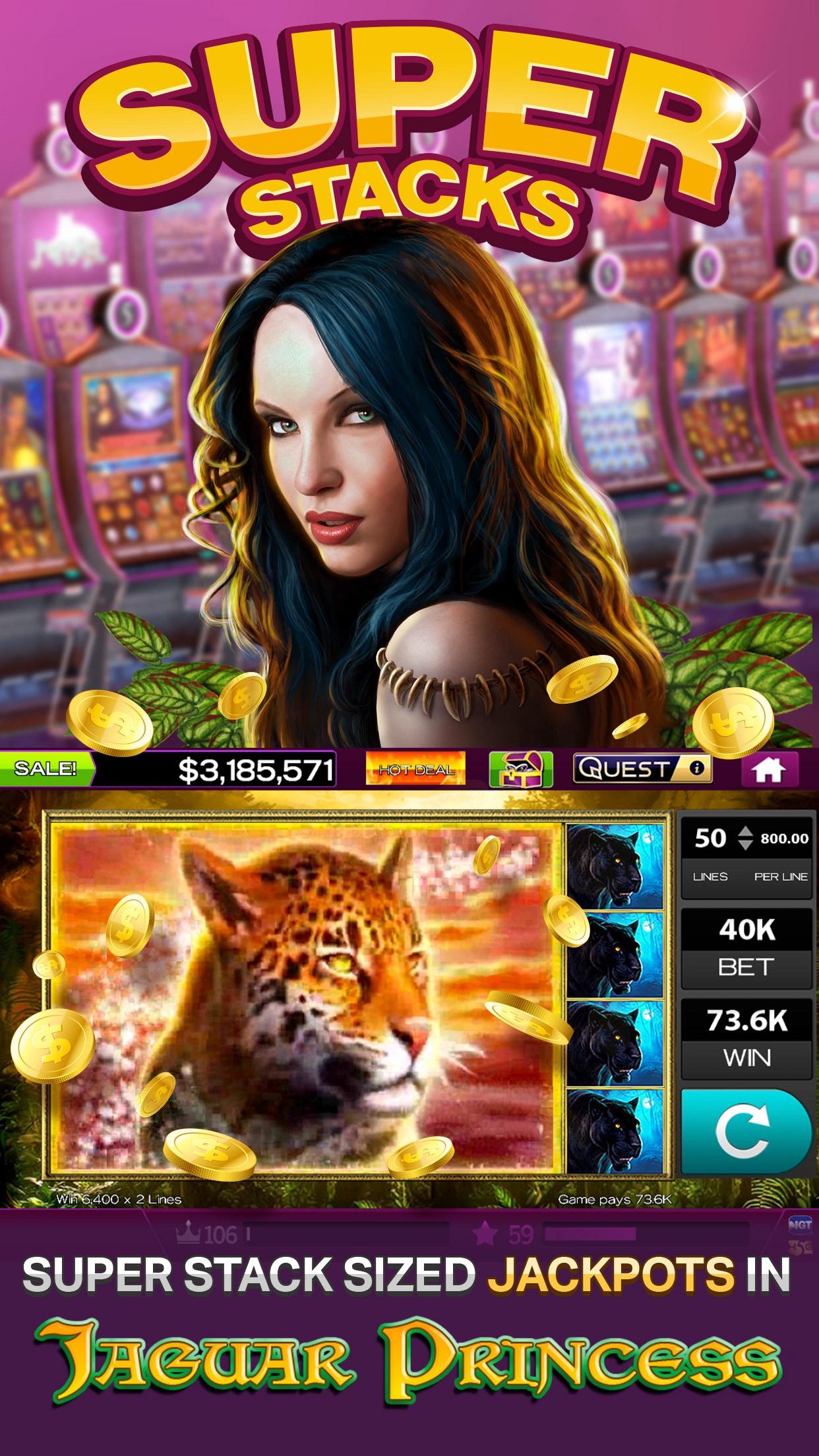 High 5 Casino Hot Casino Slots Screenshot