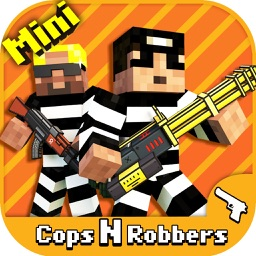 Cops N Robbers (FPS): 3D Pixel