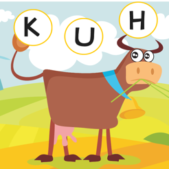 ABC German Learn-ing With Fun: Free Education-al Game For Spell-ing Out Farm Animal-s with Fun & Pla...