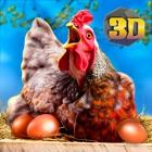 Farm Chicken Survival Sim 3D icon