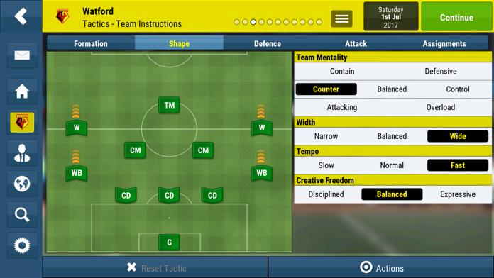 Football Manager Mobile 2018 Screenshot