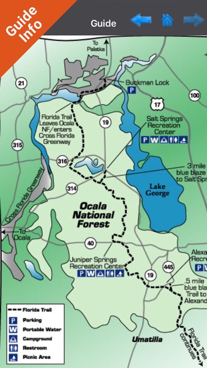 Ocala National Forest - GPS Map Navigator screenshot-1