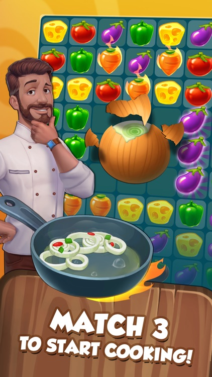 Let s cook a match 3 game by big fish games inc for Big fish cooking games