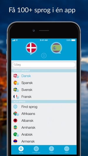 oversæt latin til dansk online