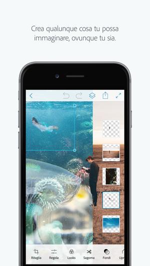 Adobe Photoshop Mix Ritaglia Unisci Crea Su App Store