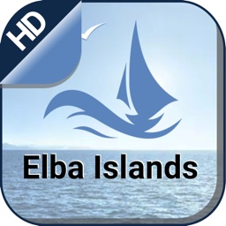 Elba Islands offline nautical charts for fishing
