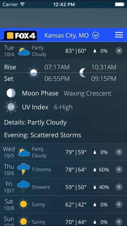 WDAF Fox 4 Kansas City Weather screenshot-4