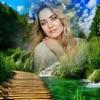 Green Hill Photo Frame