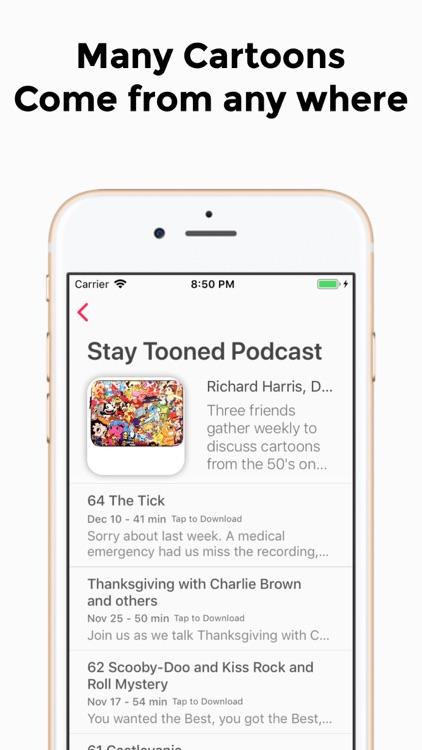 Cartoon Audio Podcast screenshot-3