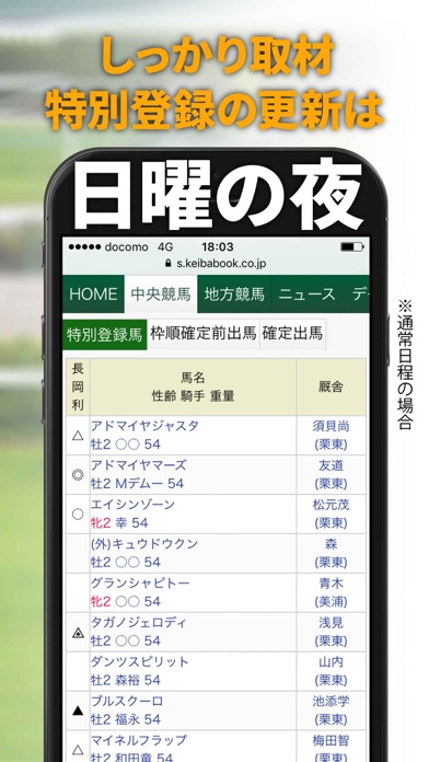 競馬ブックSmart ScreenShot2