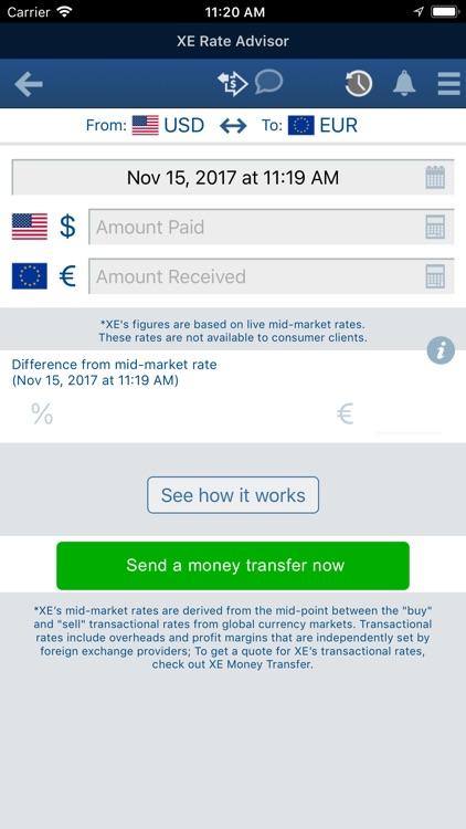 XE Currency Pro screenshot-4