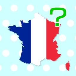 France Regions & Departments Map Quiz