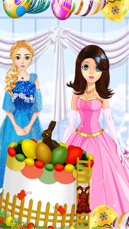 Happy Birthday Party on Easter