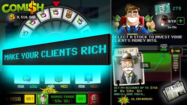 Comish - The Stockbroker Sim! screenshot-1