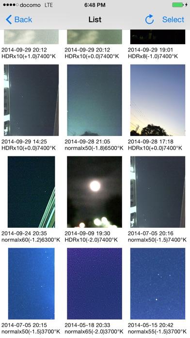 Starry sky Camera Screenshot 4