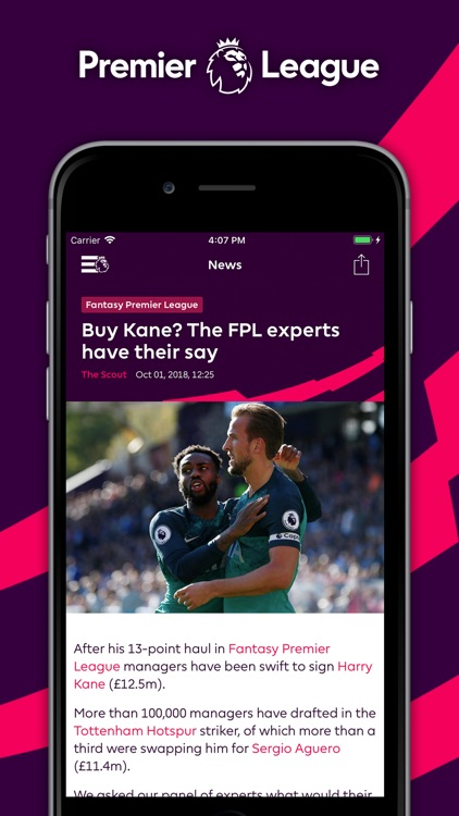 Premier League - Official App screenshot-4