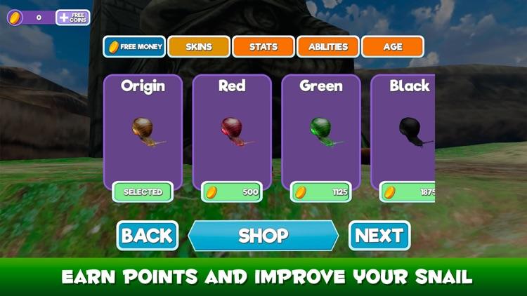 Snail Wild Life Simulator 3D screenshot-3
