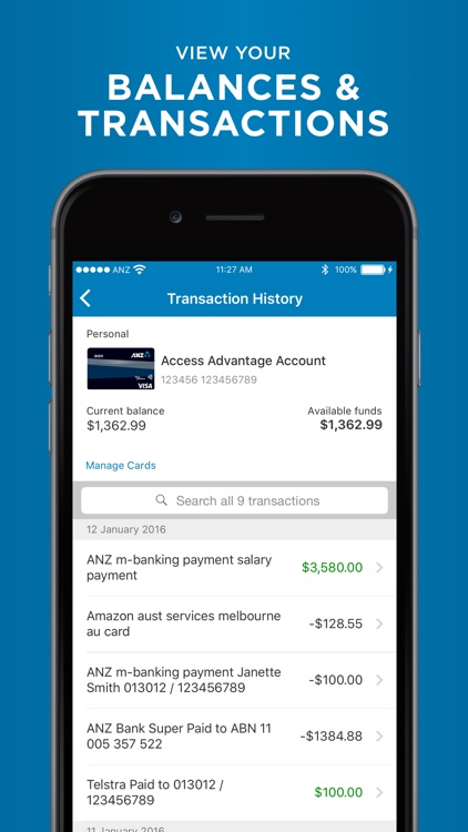 ANZ goMoney Australia screenshot-1