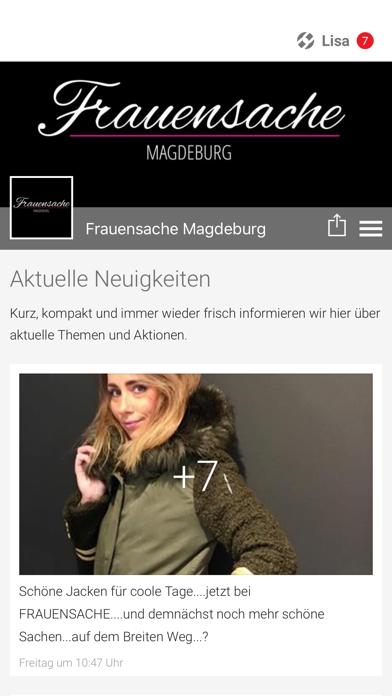 Frauensache Magdeburg screenshot one