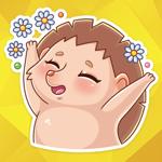 Cutie Hedgehog Stickers