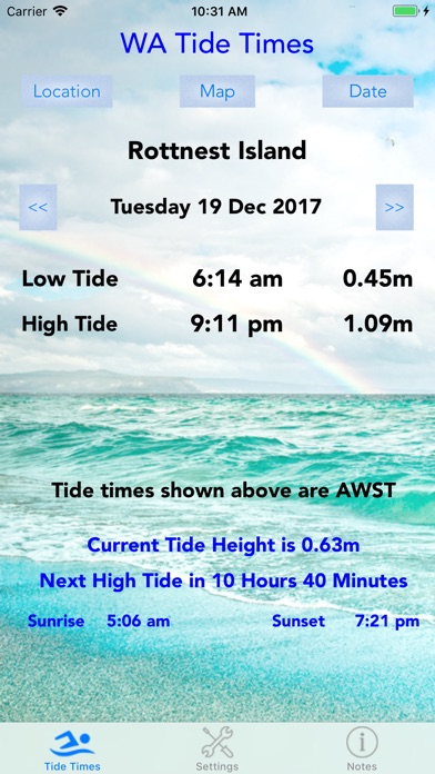 Wa Tide Times By Xentore Pty Ltd Weather Category Appgrooves