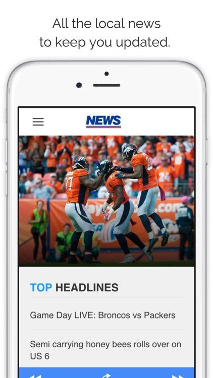 Denver Gameday Radio for Broncos Rockies & Nuggets screenshot-4