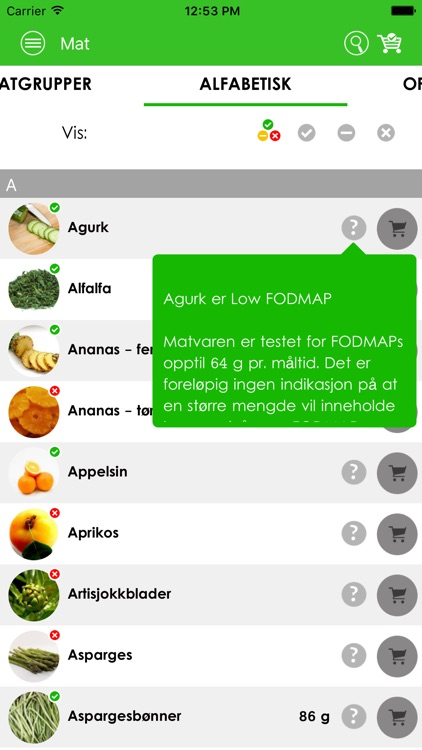 Low FODMAP av Mollyosa screenshot-3