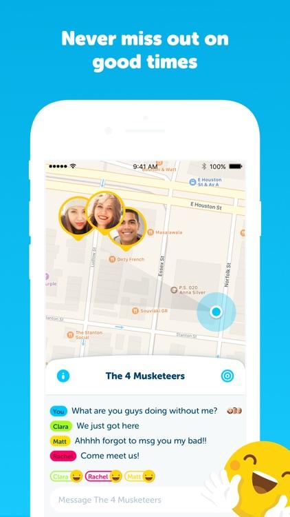 Zenly - your social map screenshot-3
