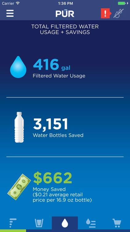 PUR Faucet Mount Water Filter screenshot-3